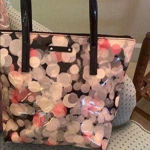 Kate spade find purse plastic overlay